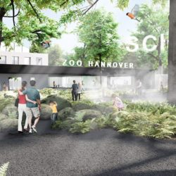 Erlebnis-Zoo Hannover - Competition Entry New Zoo Entrance